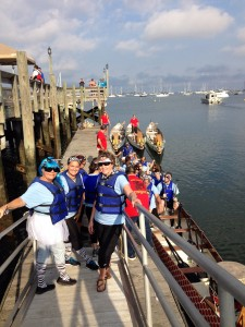 First Boat out - PJ Dragon Boat Race Fest